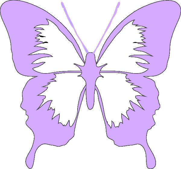 Butterfly clipart purple. Light clip art at
