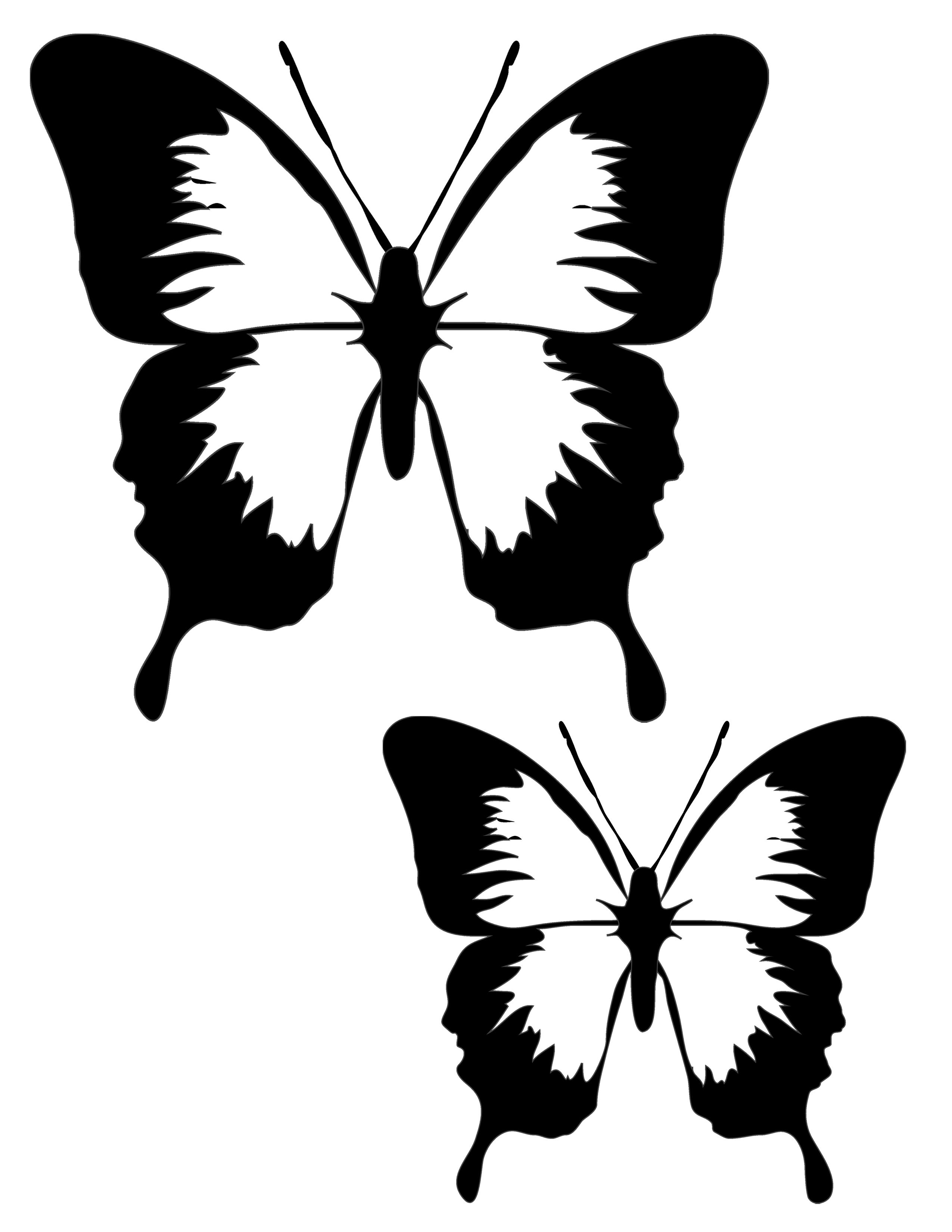Butterfly clipart scene. Tissue paper sun catchers