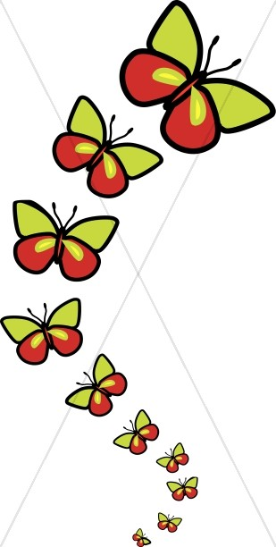 Butterfly clipart scene. Graphics images sharefaith clip