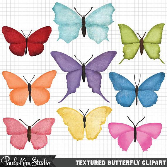 Butterfly clipart scrapbook. For digital embellishment