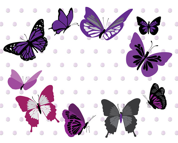 Purple accessories graphics high. Butterfly clipart scrapbook