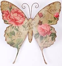 Butterfly clipart shabby chic.  best clip art