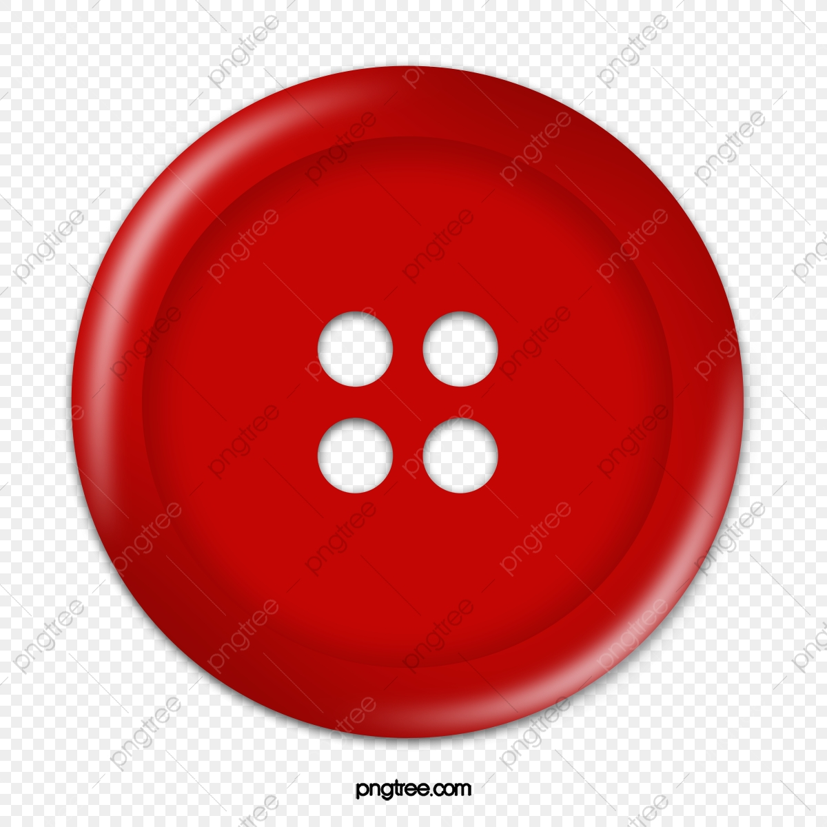 Button clipart. Red clothes png