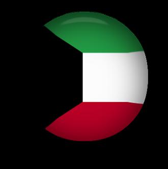 Button clipart animated. Free kuwait flags kuwaiti