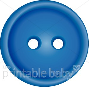 Brads buttons and embellishments. Button clipart blue button