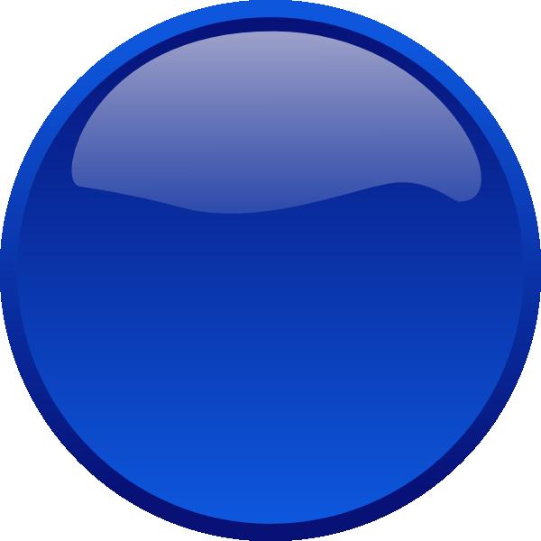 Blue clip art at. Button images png