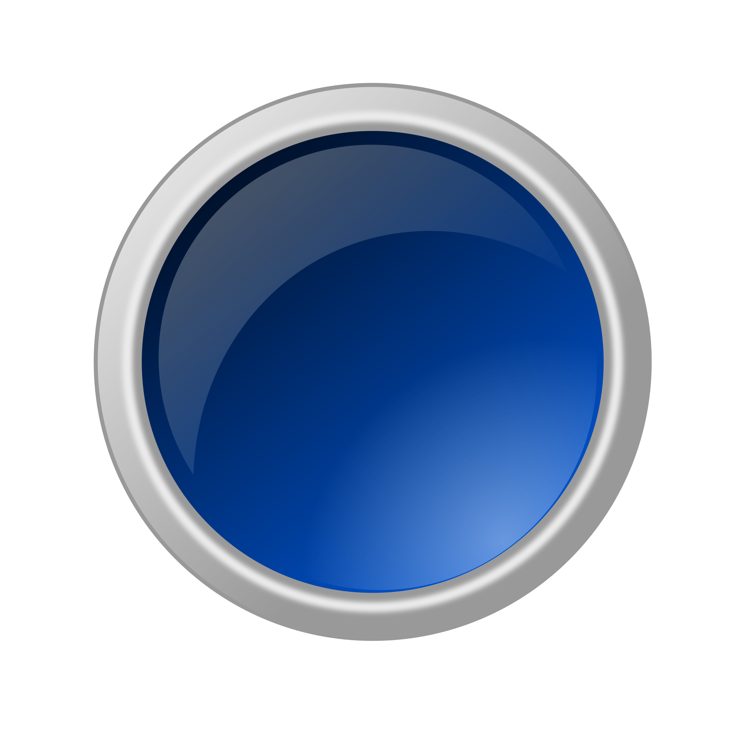 Glossy big image png. Button clipart blue button
