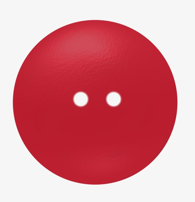 Button clipart boton. Red clothes buttons hand