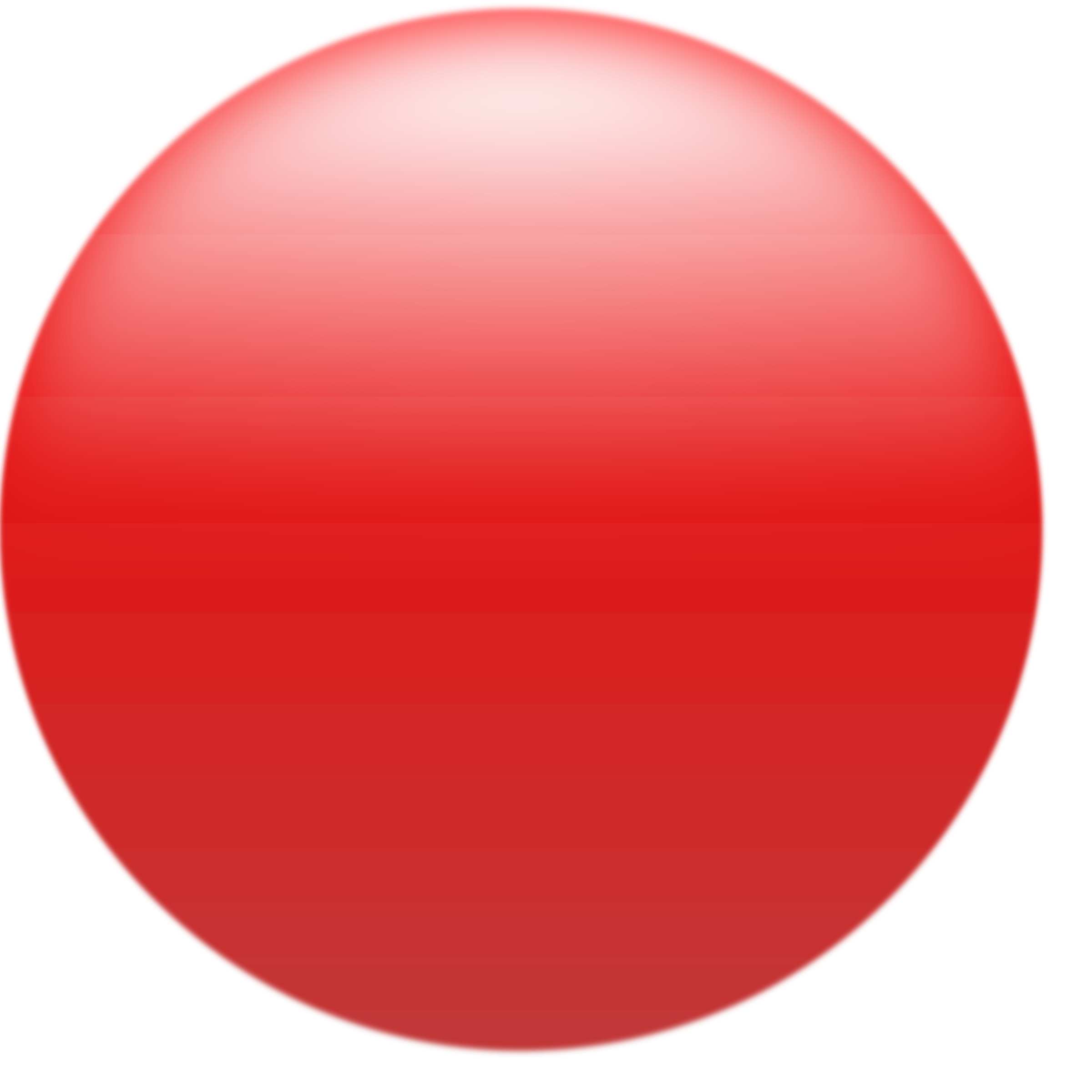 Simple glossy button red. Circle clipart round shape