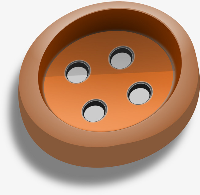 Button clipart clothes button. Brown buttons png image