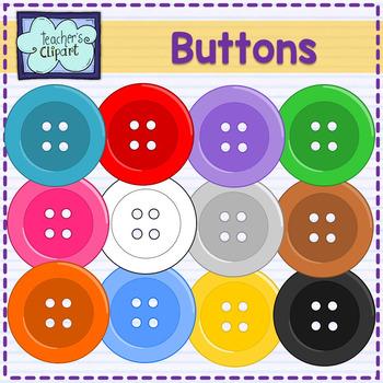 Button clipart colored button. Buttons clip art