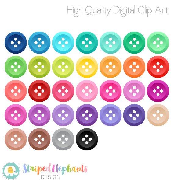 Button clipart craft. Buttons sewing clip art