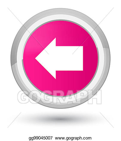 Back arrow icon prime. Button clipart drawing