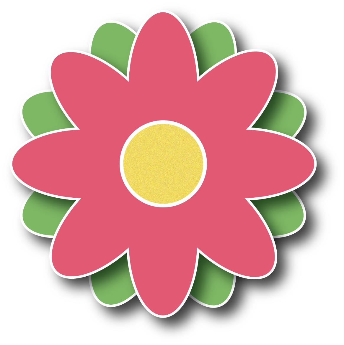 Button clipart flower. Clipground march flowers