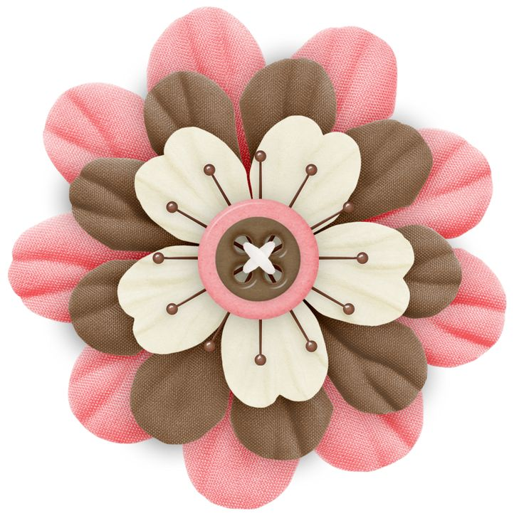 Button clipart flower.  best omorfa images