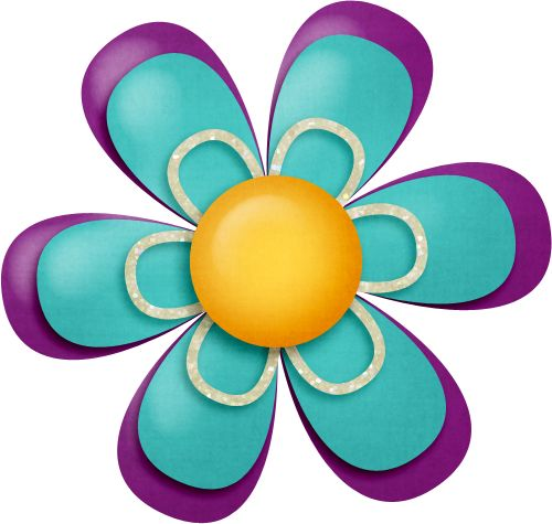 best transparent flowers. Button clipart flower