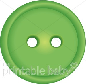 Brads buttons and embellishments. Button clipart green button