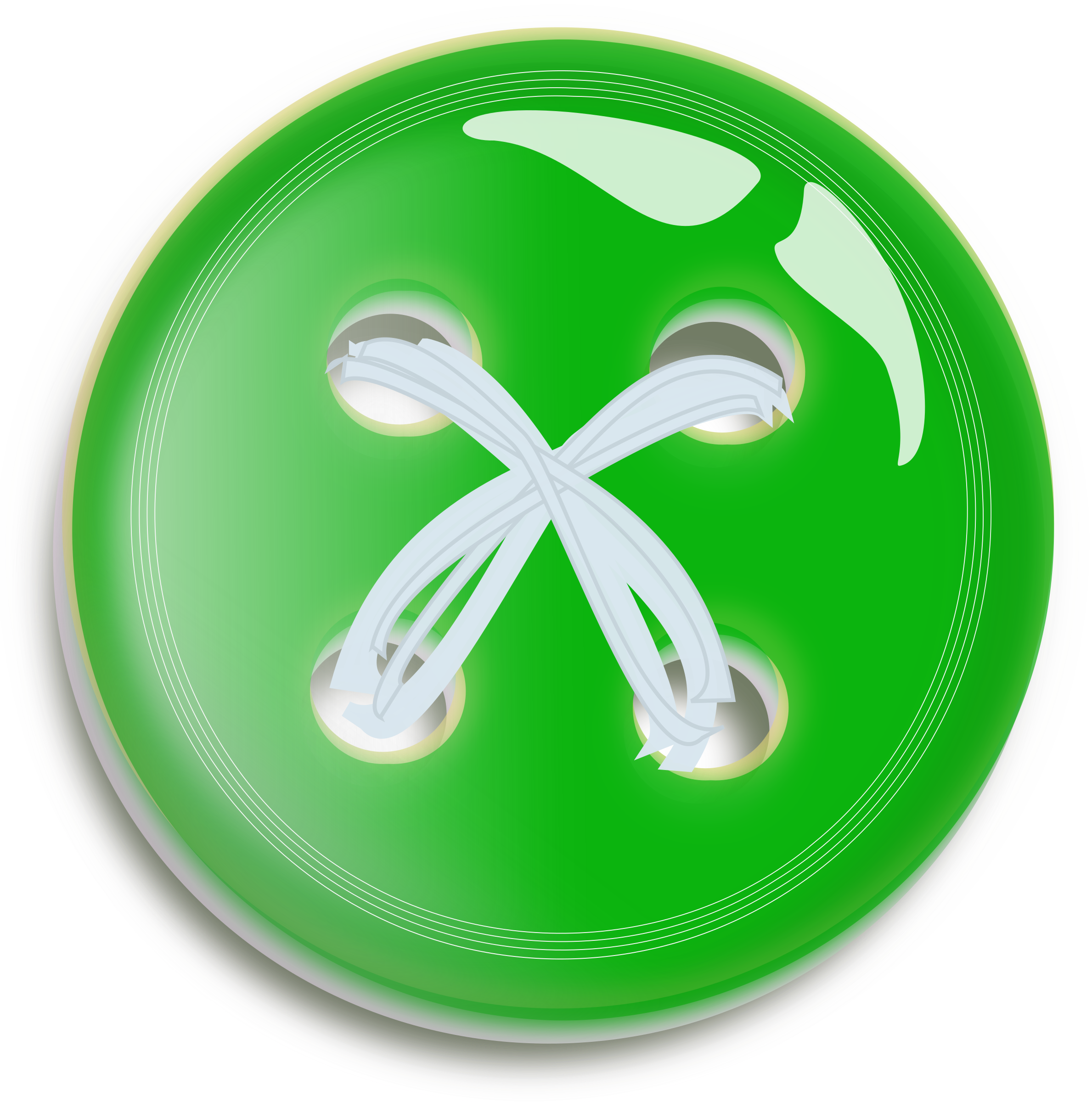 Button big image png. Clothing clipart green clothes
