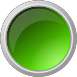 Button clipart green button. Glossy clip art at