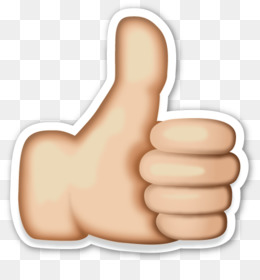 Free download emoji thumb. Button clipart hand