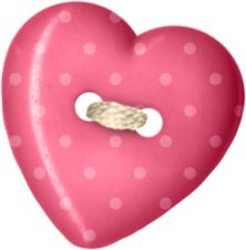 best buttons bows. Button clipart heart