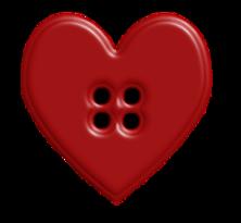 Pin by lynn mcrea. Button clipart heart