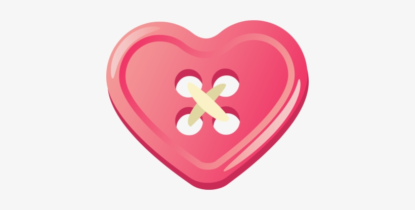 Button clipart heart. Shape pencil and in