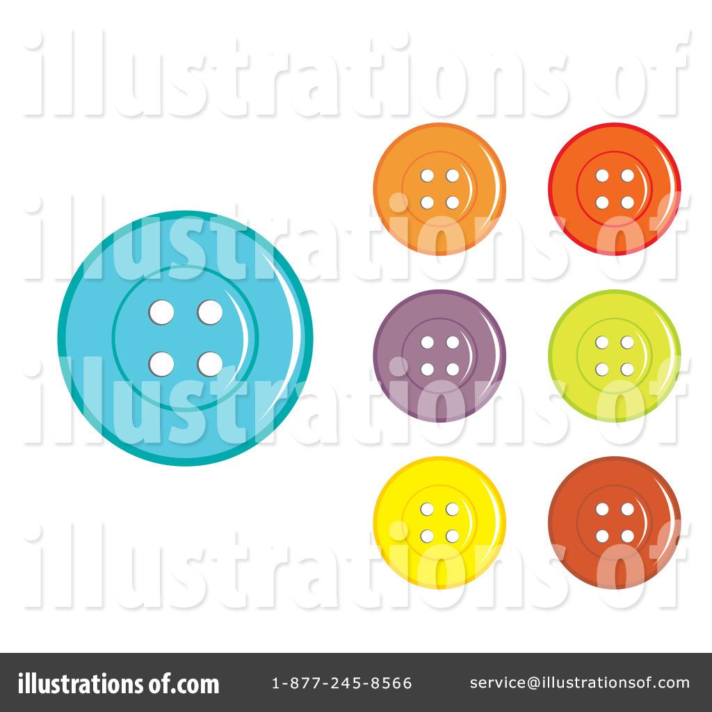 button clipart illustration