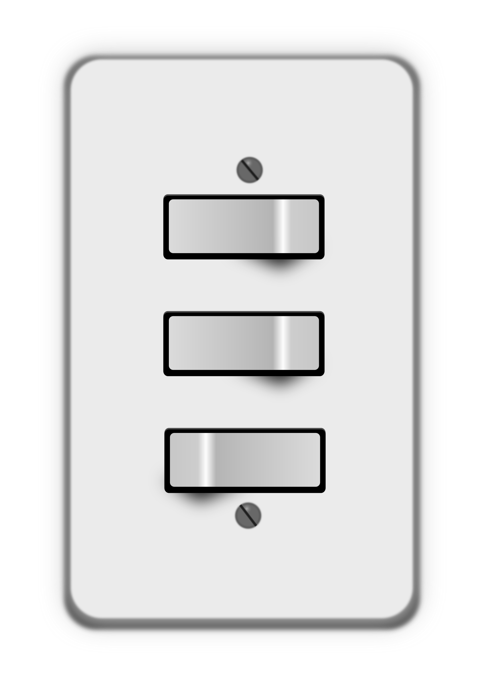 Button clipart light switch. Switches two off big