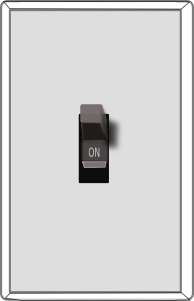 Button clipart light switch. White on clip art