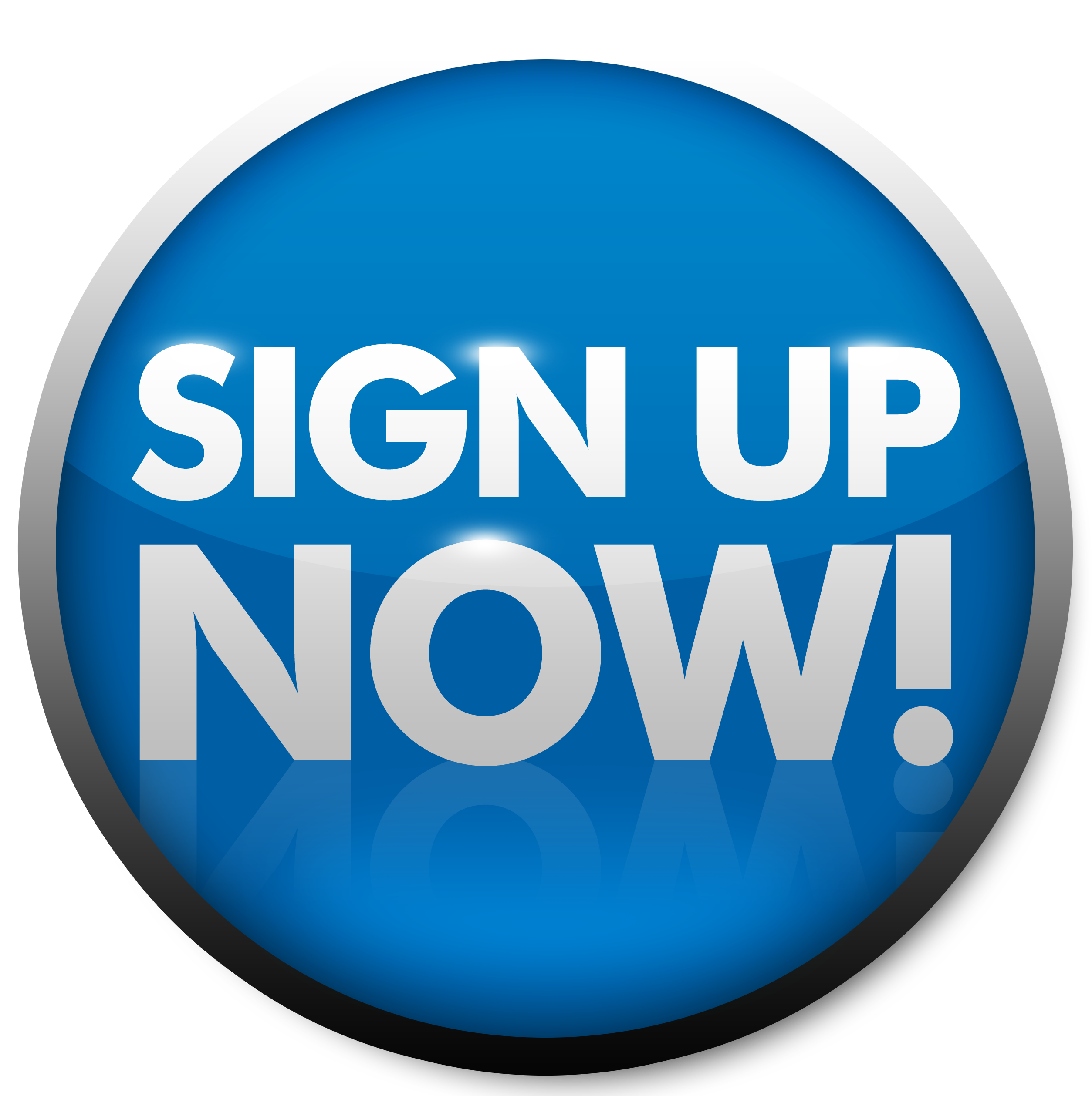Number 1 clipart 1blue. Blue button sign up