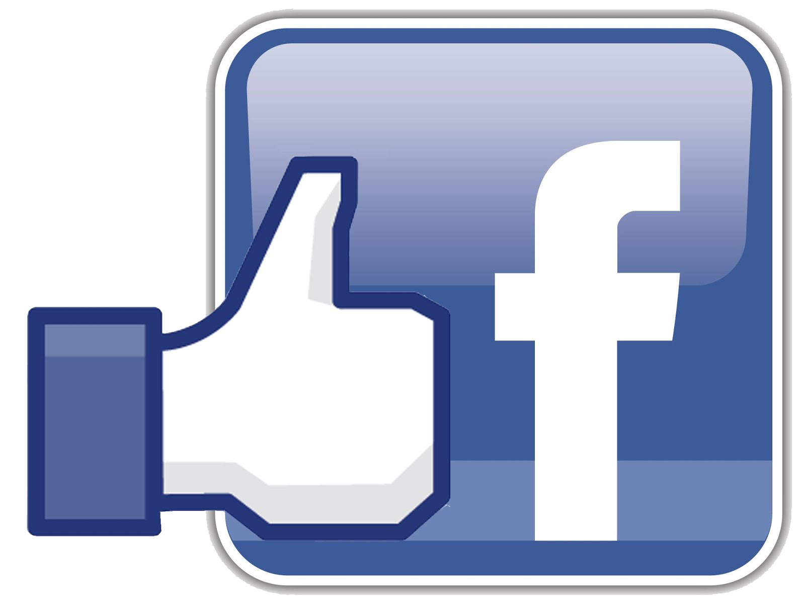 Facebook clipart logo. Png like button