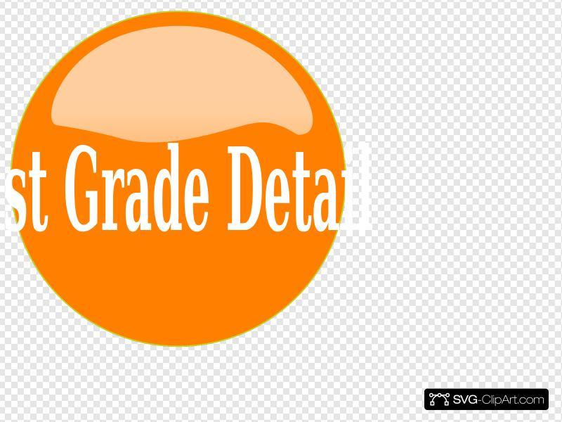 Button clipart orange button. Clip art icon and