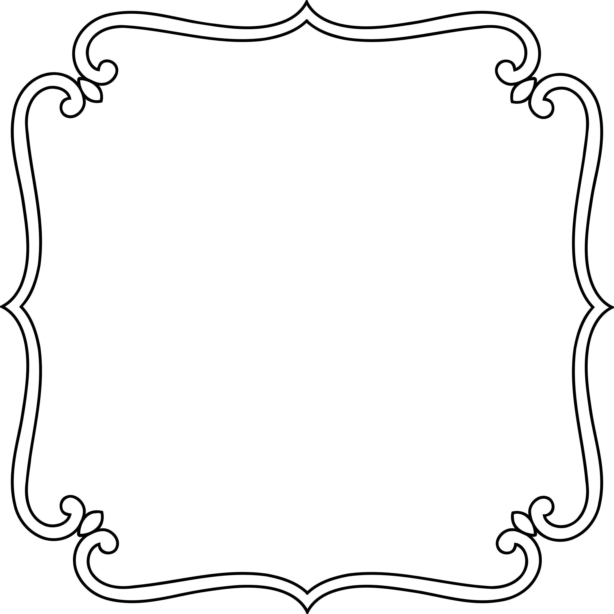 Button clipart ornamental. Frame design droide