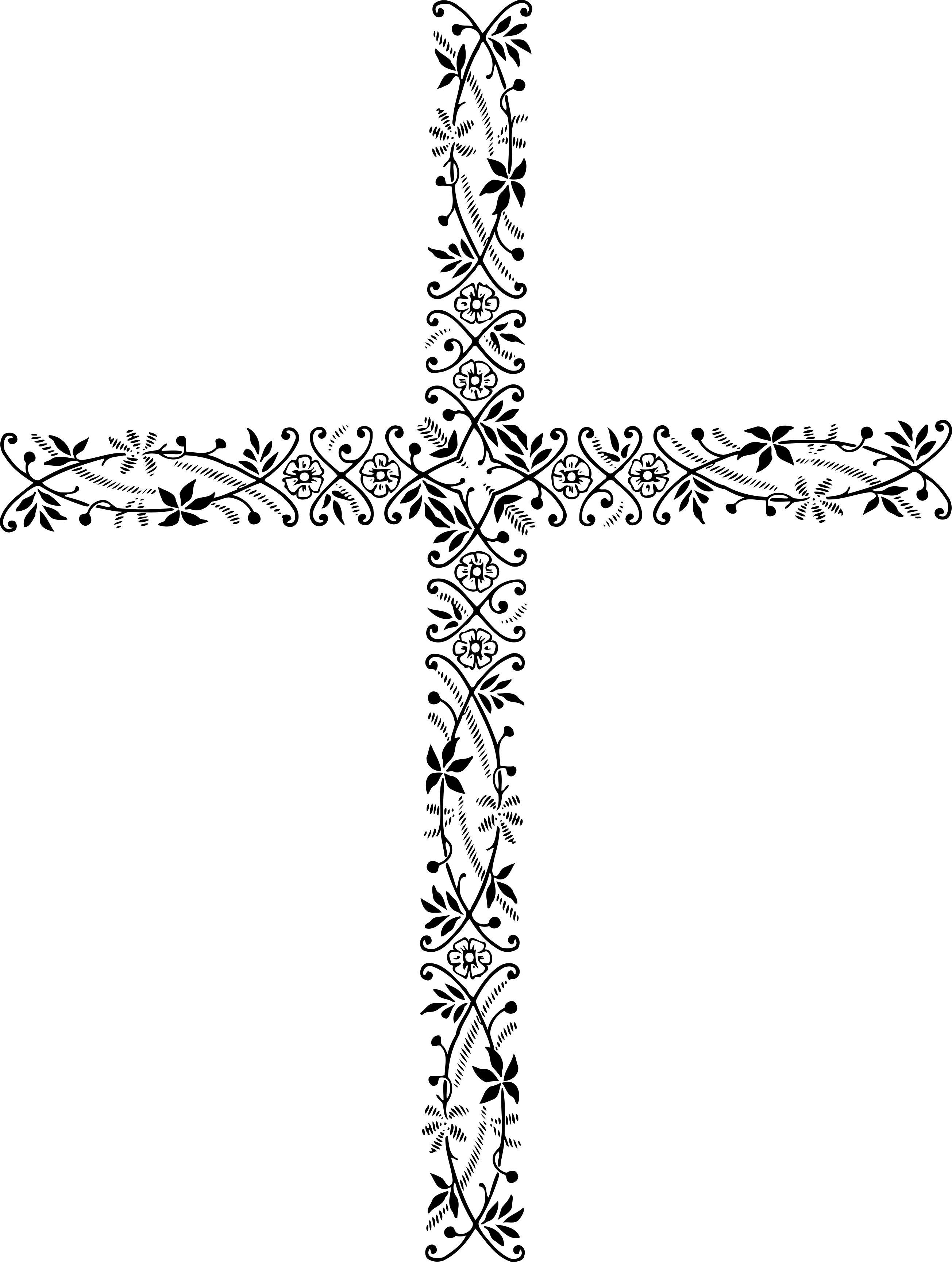 Button clipart ornamental. Cross design droide
