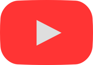 Style play button hover. Youtube clipart logo