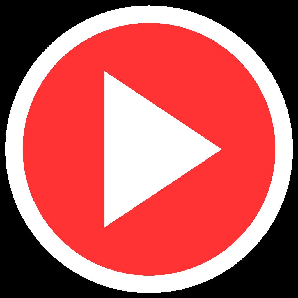 Play button . 1 clipart transparent