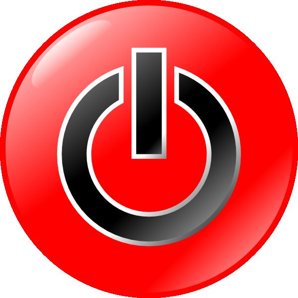 Clip art at clker. Button clipart power
