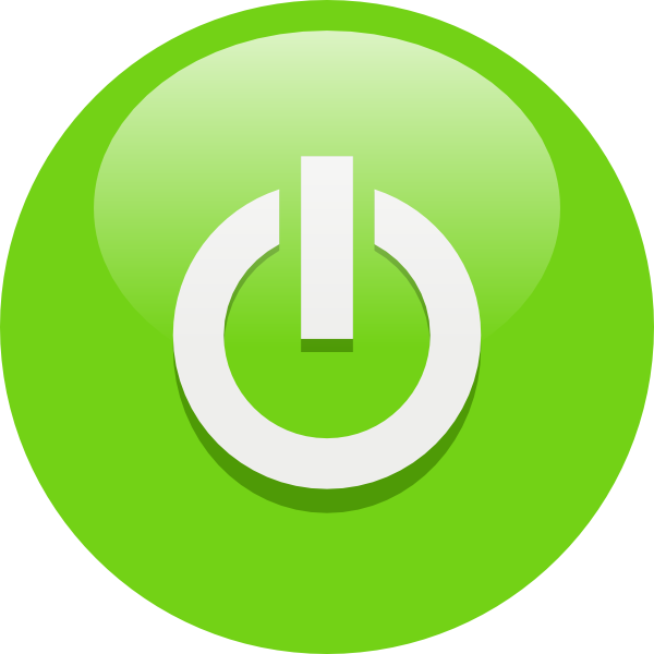 button clipart power switch