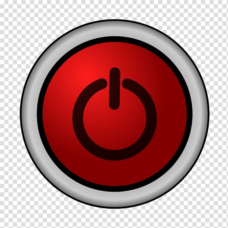 Icon electrical switches symbol. Button clipart power switch