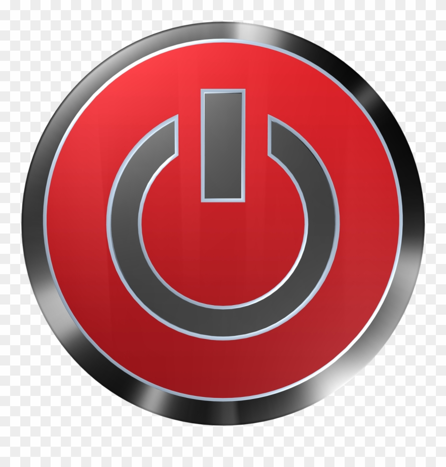 Button clipart power switch. Png image
