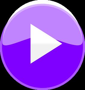 Play png svg clip. Button clipart purple button