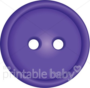 Brads and embellishments. Buttons clipart purple button