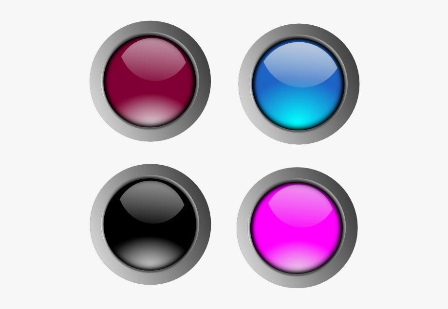 Buttons clipart purple button. Glossy transparent