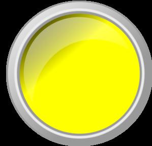 Yellow glossy clip art. Button clipart push button