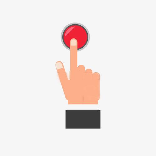 Buttons clipart press. Push button alert contact