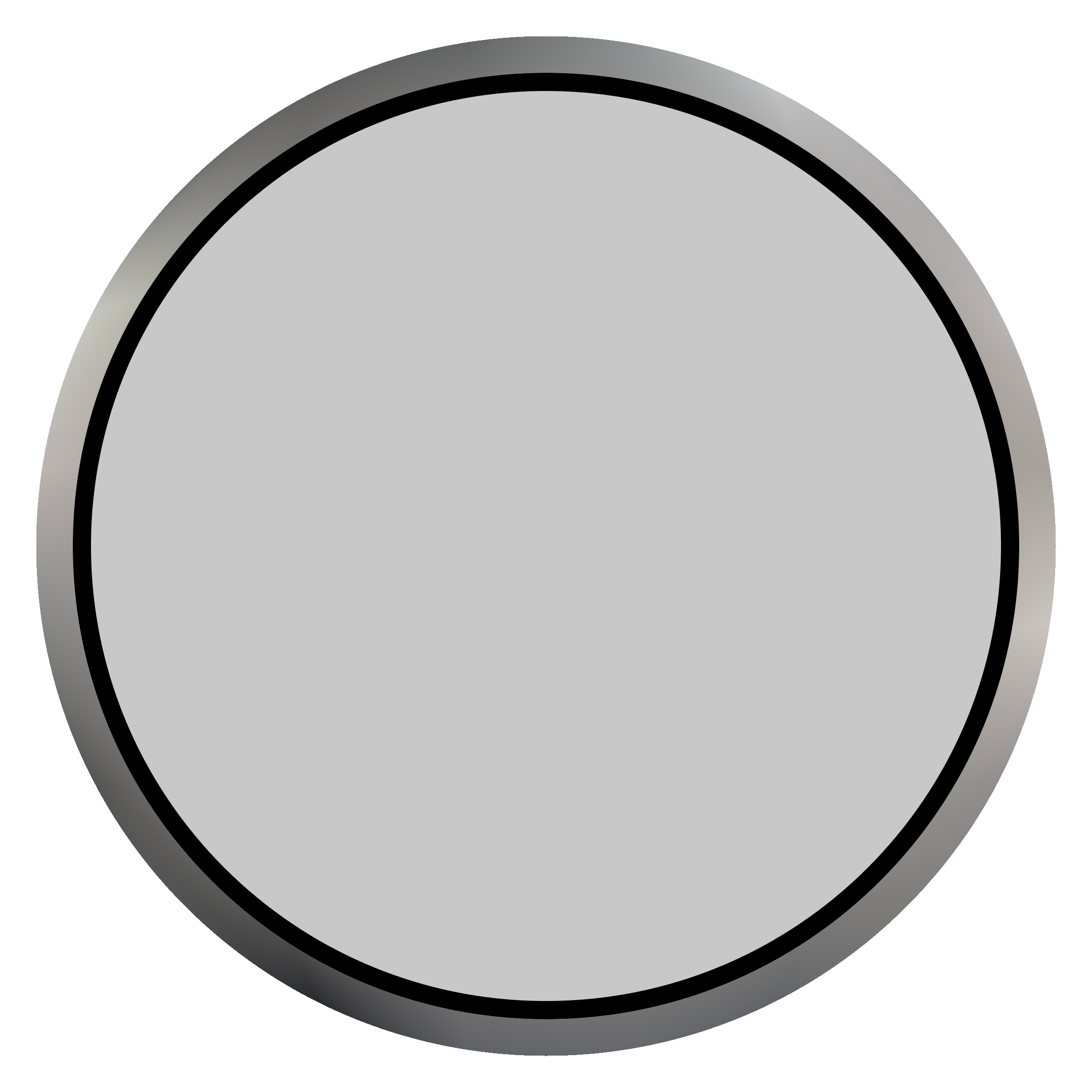 Indistrial white big image. Button clipart push button