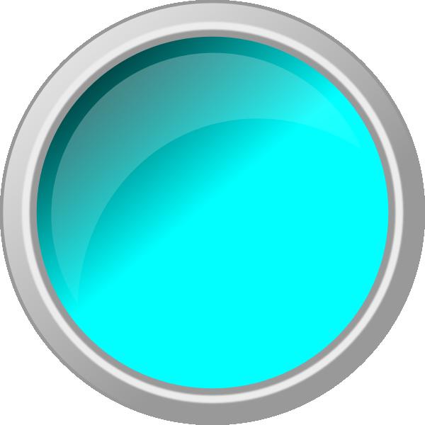 Button clipart push button. Light blue clip art
