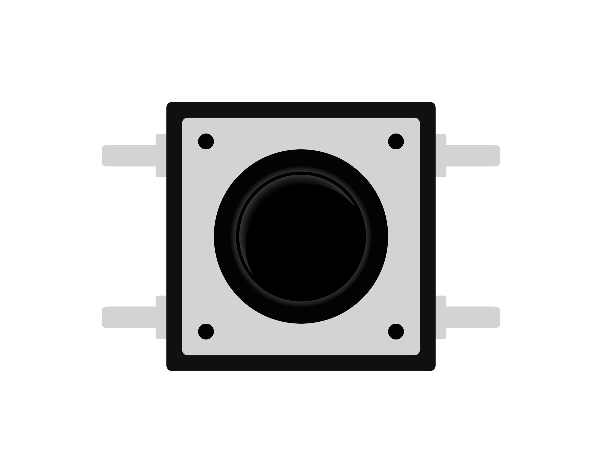 Dpst micro switch big. Button clipart push button
