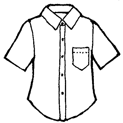 Button clipart shirt.  tracks radio down